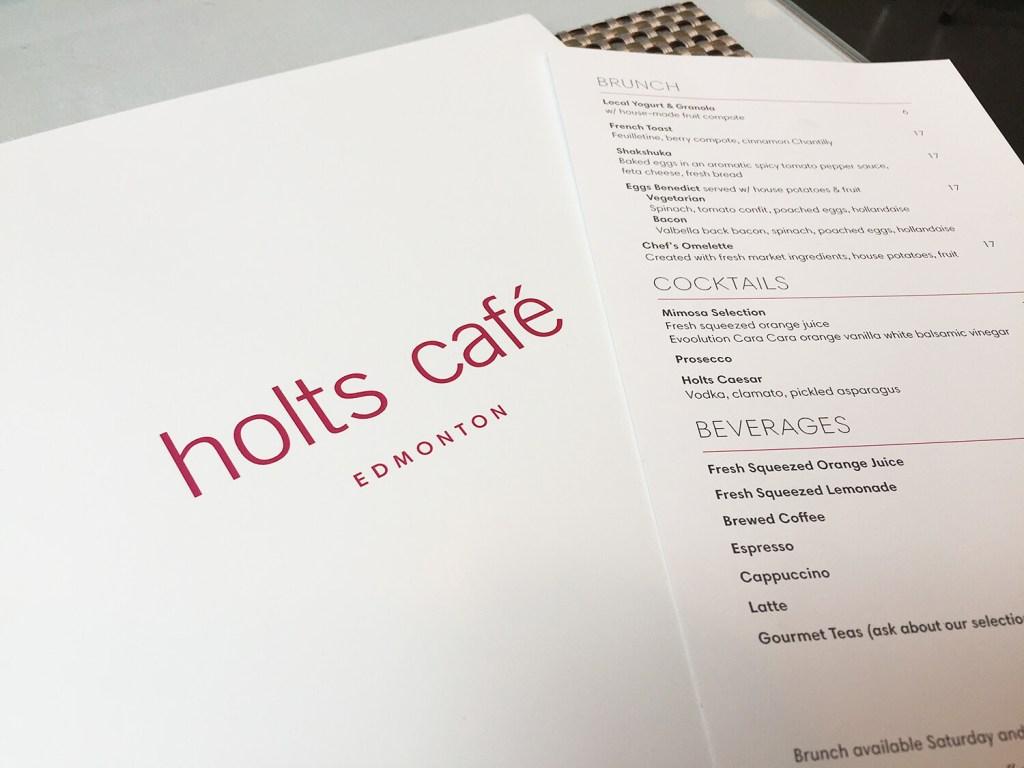 Holt's Cafe Holt Renfrew Edmonton Manulife Place Downtown