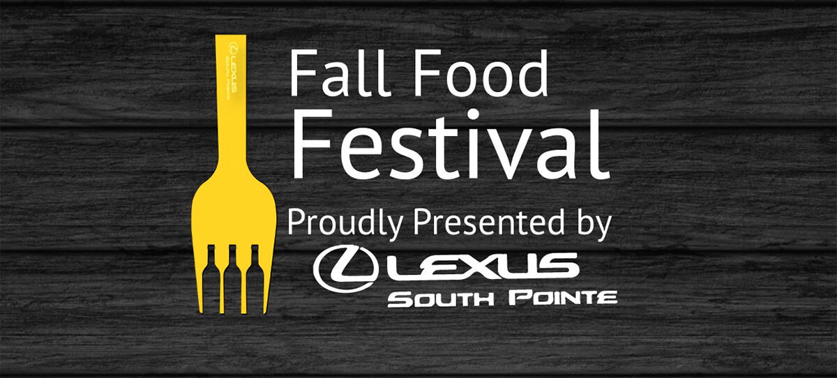 Preview/Giveaway: Food Tickets to Lexus South Pointe Fall Food Festival (2016)