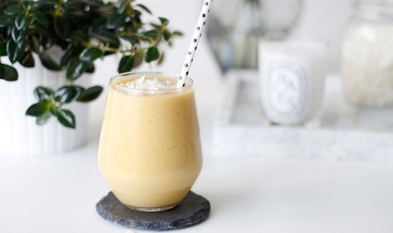 Mangó og kókos smoothie