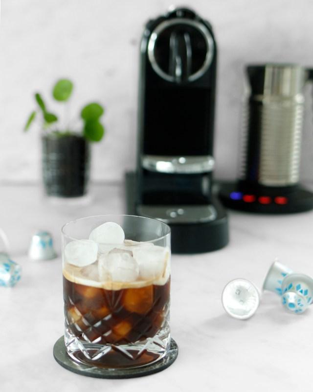 Ískaffi nespresso kaffivél