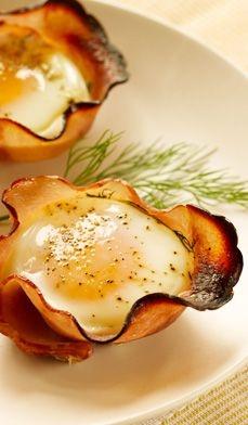 egg i skinke