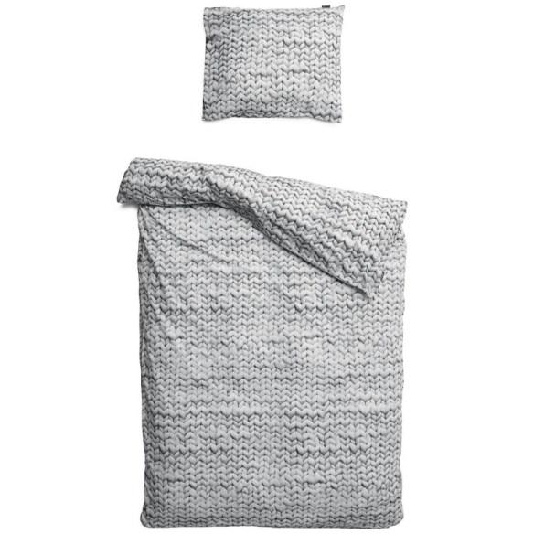 snurk Sengetøy Twirre Grey
