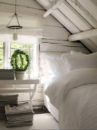 soverom på loftet