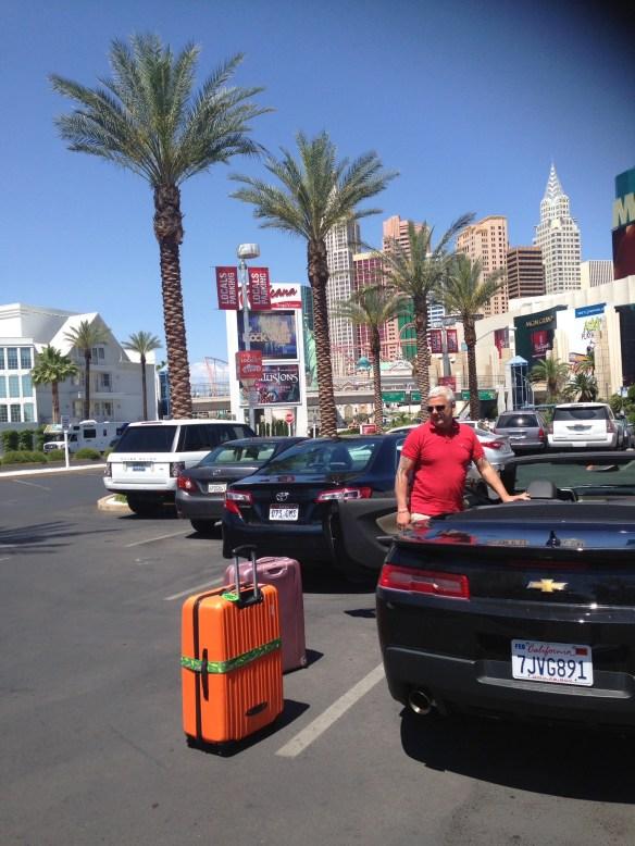 Avreise Las Vegas Geir