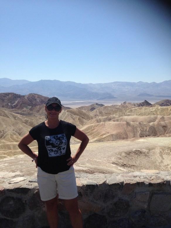 Death Valley utsiktspunkt Linda