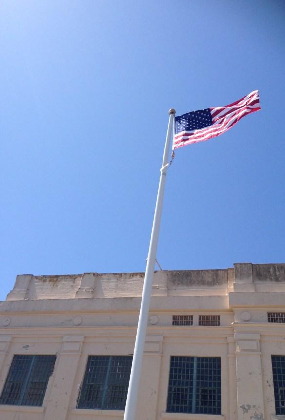 Flagg Alcatraz