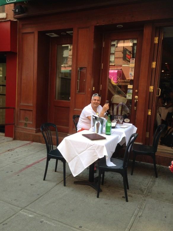 Little Italy New York Italiens restaurant Geir