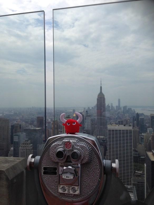 New York utsikt fra Rockefeller Center11