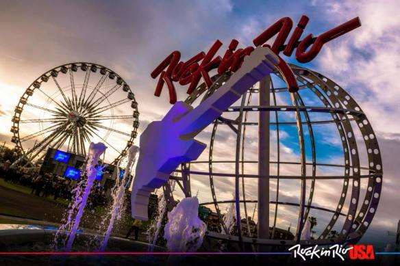 Rock in Rio Las Vegas monument