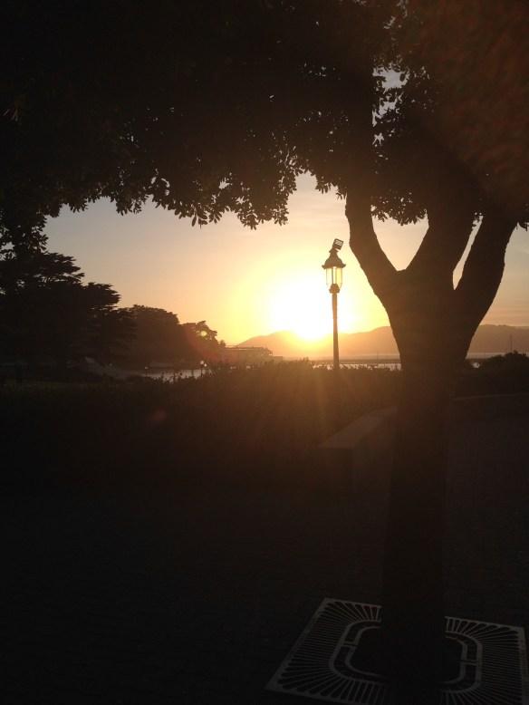 Solnedgang San Francisco