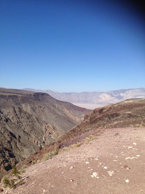 Stopp i Death Valley