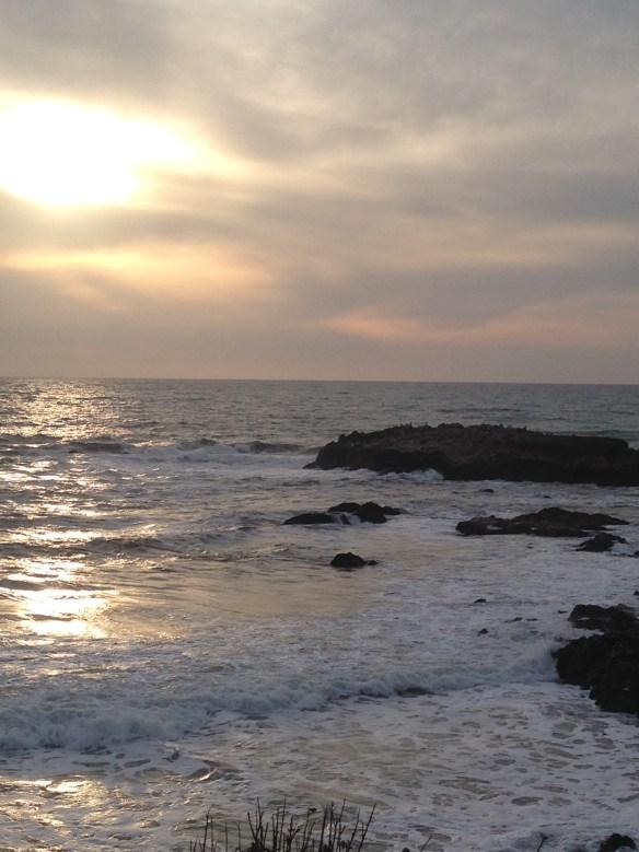 Strand på vei til LA 1