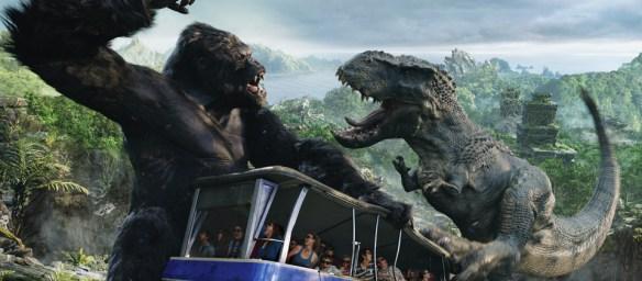Universal Studio Jurassic Park King Kong
