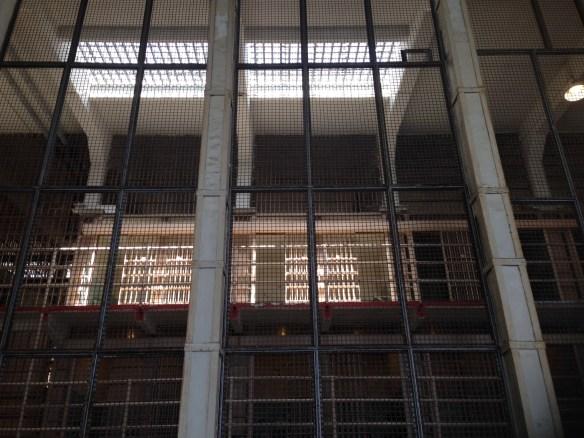 Utsikt fra biblioteket Alcatraz