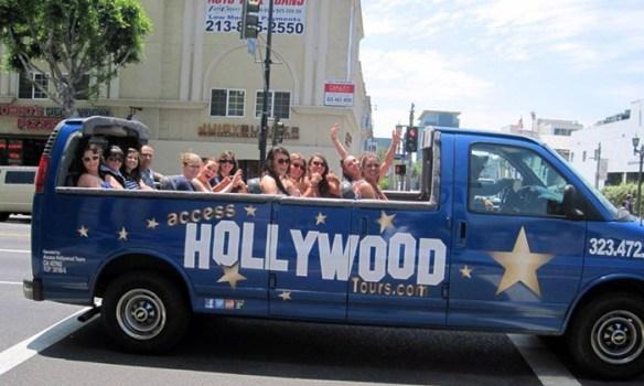 hollywood tour kjendis hjem