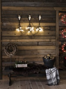 Lyslenke utendørs innendørs 10 lys miljøbilde jul