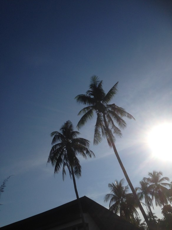 Idyllic Resort - Solen forsvinner snart fra Sunset Beach Koh Lipe Thailand