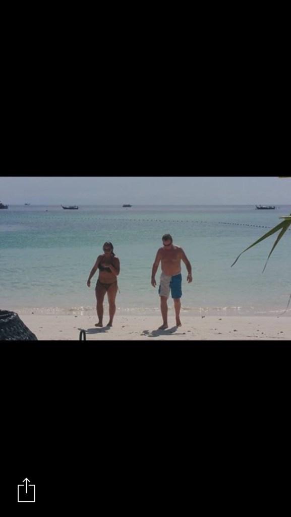 Koh Lipe Pattaya Beach Linda og Åge har badet