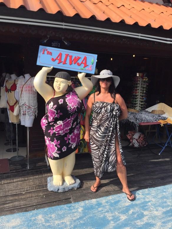 Walking Street Linda og figur Koh Lipe