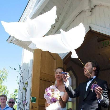 fredsdueballonger bryllup woweffekt egor filipenko