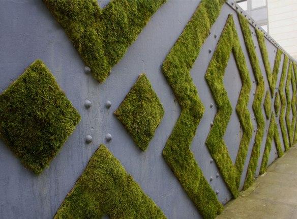 mose grafitti mønster vegg
