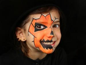 halloween-sminke-barn