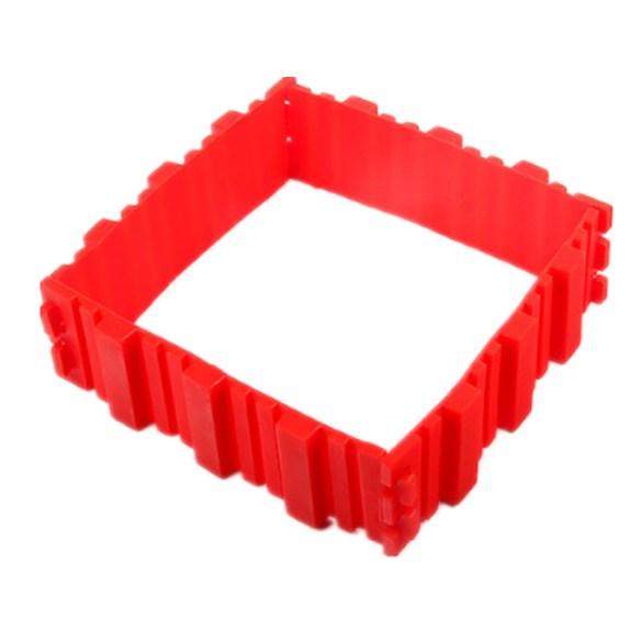 kakeform byggesett firkantet kake