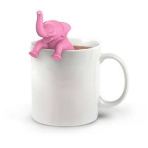 teholder elefant rosa