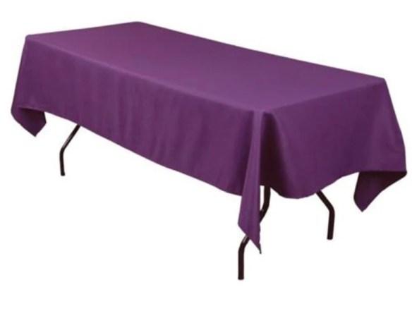 Bordduk lang lilla