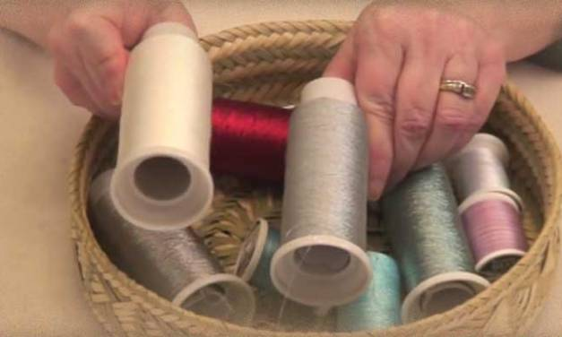 10 Tips for Getting Great Results with Metallic Thread