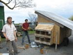 building mobile chicken coop