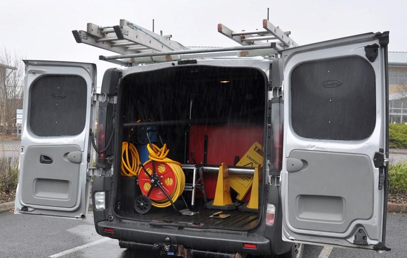 Window Cleaning Van
