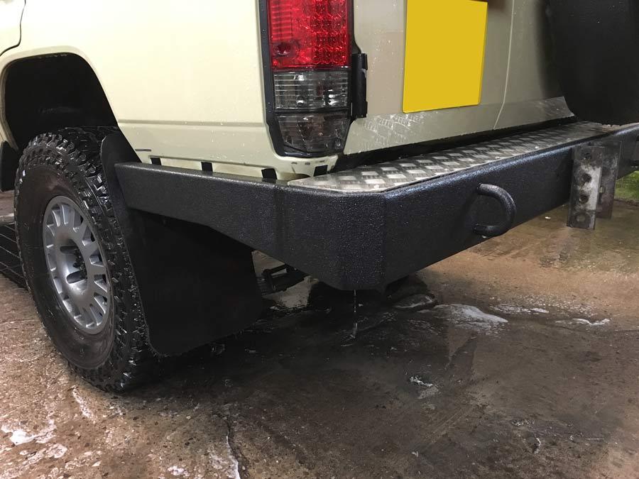 Custom Built Bumper for Land Cruiser