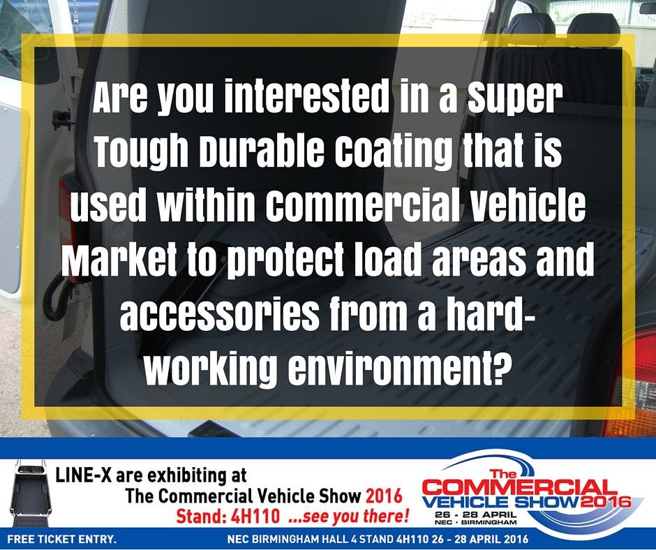 So who wants a Free Ticket to the Commercial Vehicle Show?