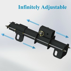 Polar Focus Spine Frame Adapter for Line Array Tilt Under Full Load