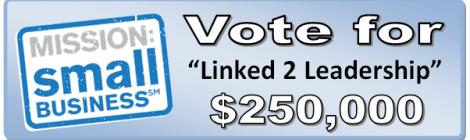 Vote for L2L Banner