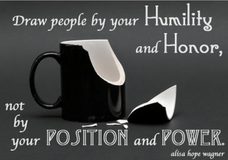 Humility and Honor
