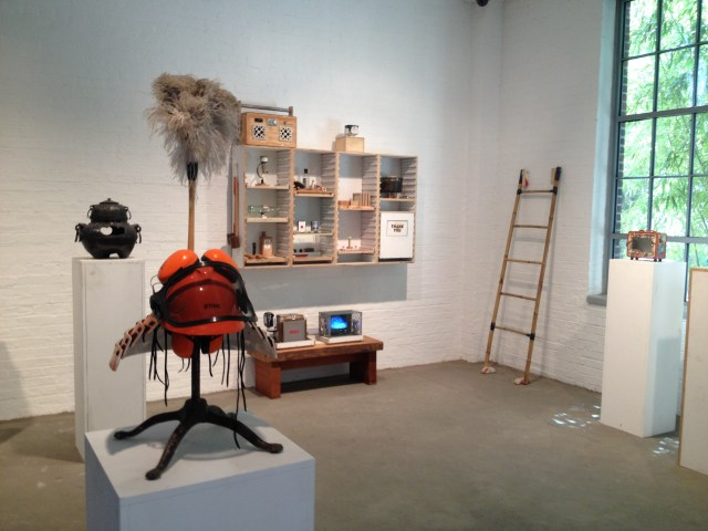 Installation view, Tom Sachs: Tea Ceremony, Noguchi Museum