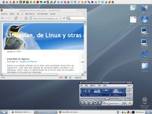 Otro screenshot de windows con theme de osx