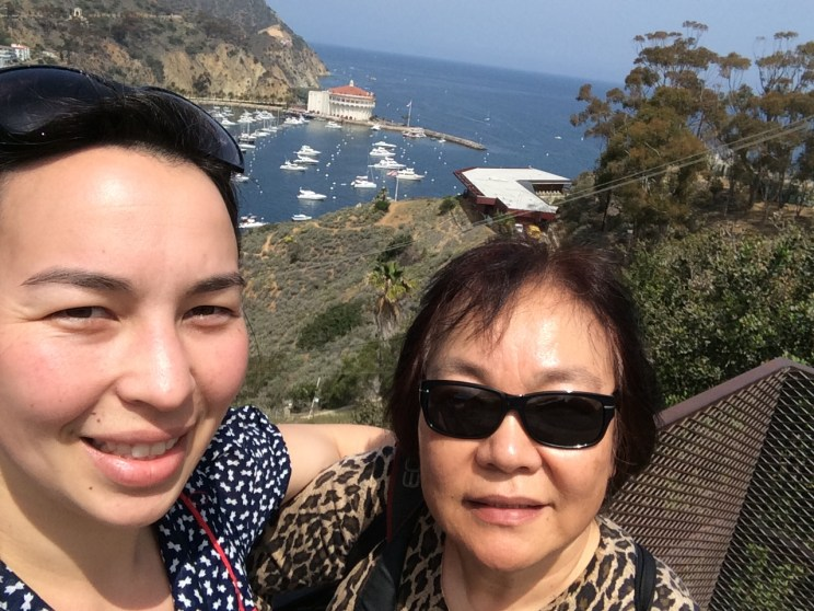 Mama & me in Catalina