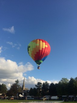 Strathaven Hot Air Balloon festival