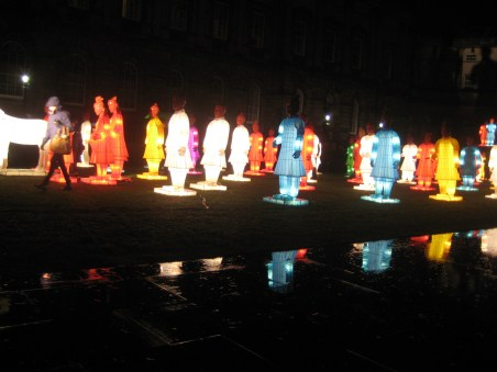 Terracotta warrior lanterns for CNY 2014