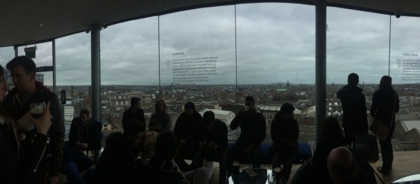 Guiness Skybar view