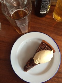 Gorilla pecan pie & beer