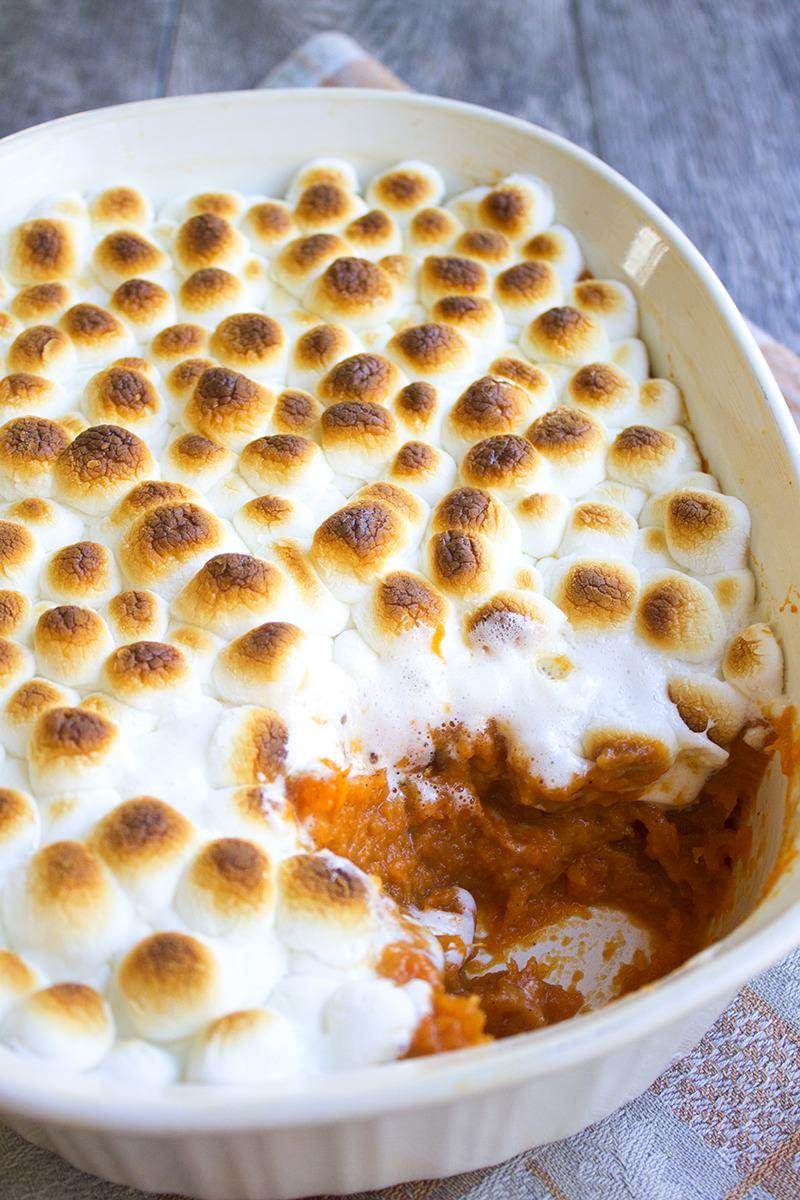 Fullsize Of Yams With Marshmallows