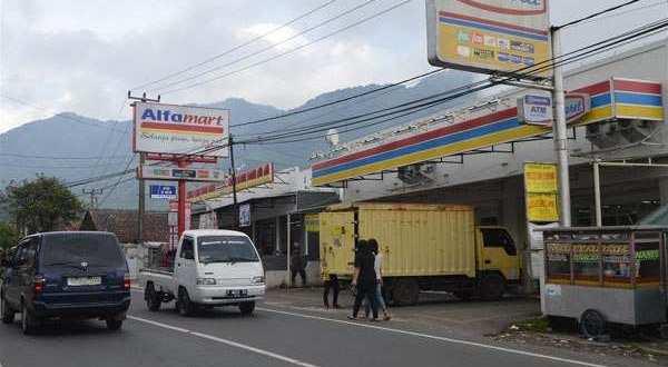 Ilustrasi perusahaan waralaba.
