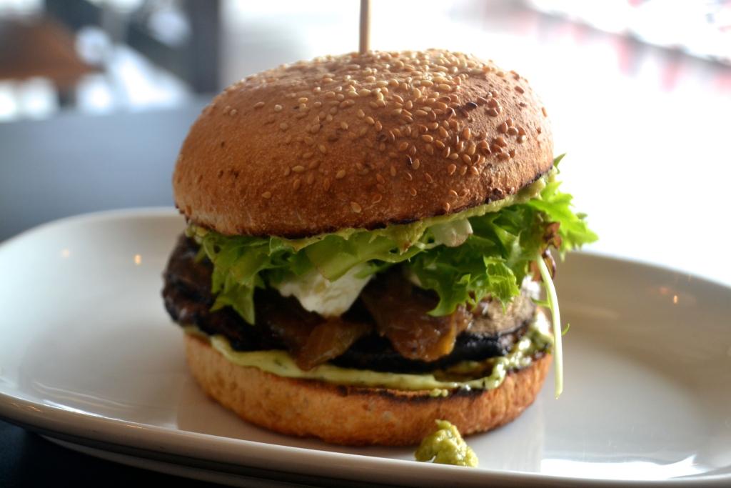 Fancy Burger The Legend Lamb Burger