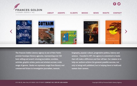 Frances Goldin Literary Agency