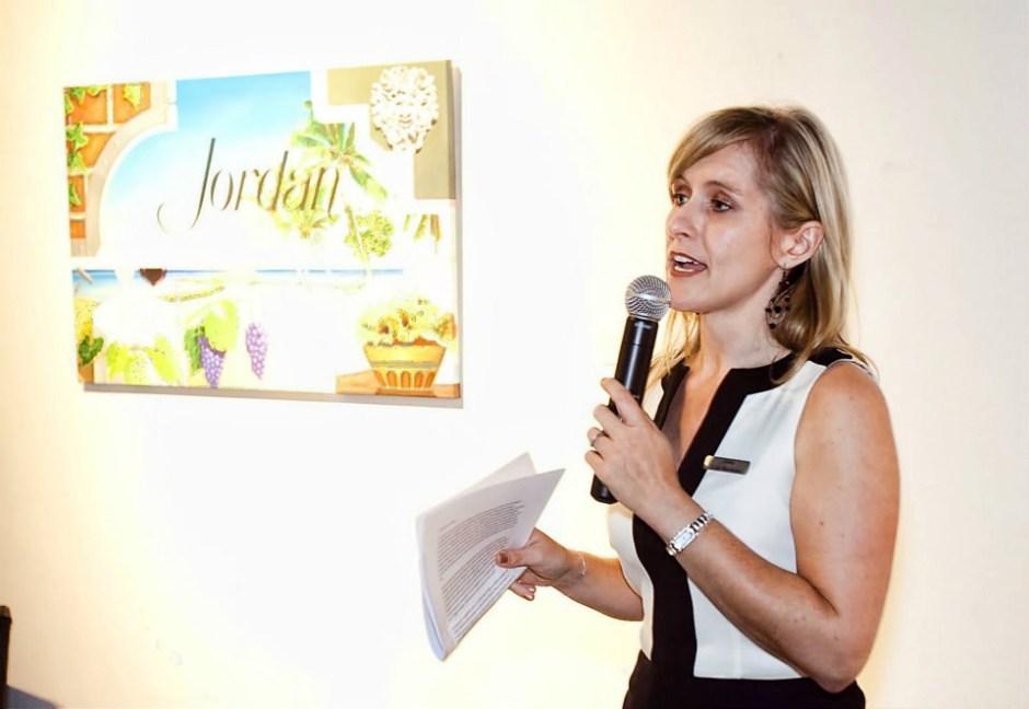 Lisa Mattson Jordan Winery event speaking BAC Miami
