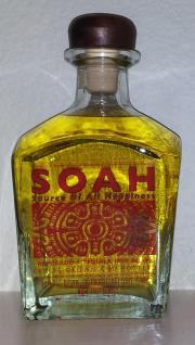 soah tequila, source of all happiness, reposado